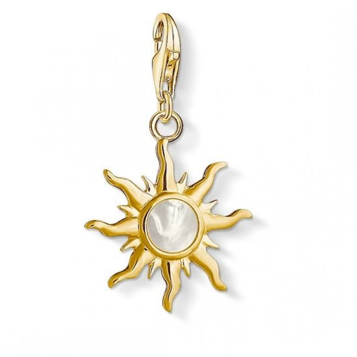 s550550 1534 429 14 Privesok THOMAS SABO SUN WITH MOTHER OF PEARL STONE