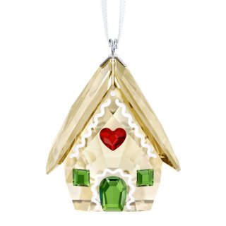 5395977 SWAROVSKI GINGERBREAD HOUSE ORNAMENT