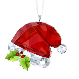 5395978 SWAROVSKI SANTAS HAT ORNAMENT