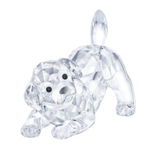 5408608 Figurka SWAROVSKI LABRADOR PUPPY PLAYING