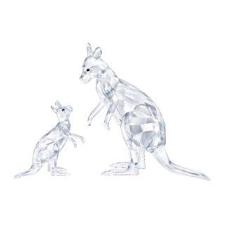 5428563 Figurka SWAROVSKI KANGAROO MOTHER WITH BABY
