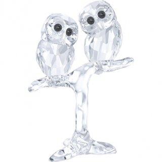 Figurka SWAROVSKI BABY OWLS