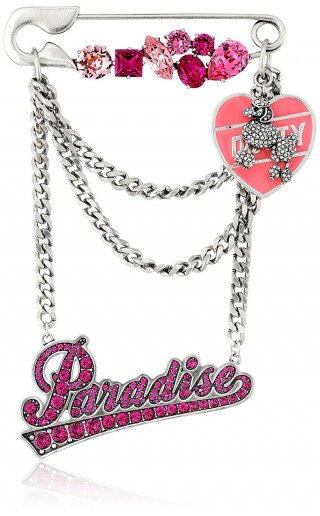 M0010749 651 Brosa MARC JACOBS CHARMS PARADISE CHAIN BROOCH
