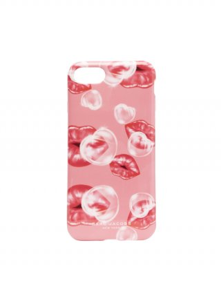 M0013434 651 MARC JACOBS IPHONE X CASE PHONE CASE PRINTED LIPS