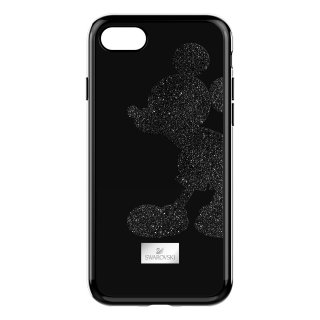 5435478 Obal na iPhone SWAROVSKI MICKEY BODY IP78CASE BLKSTS