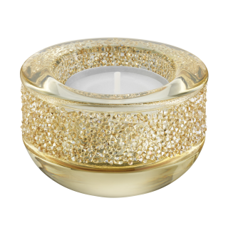 5108877 PNG SWAROVSKI SHIMMER TEA LIGHT HOLDER GOLD TONE