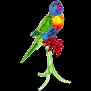 5136832 Figurka SWAROVSKI Rainbow Lorikeet