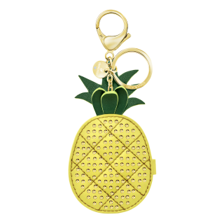 5380319 Kucenka SWAROVSKI LIME BAG CHARM YELLOW STS PGO W MIRROR