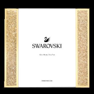 SWAROVSKI STARLET PICTURE FRAME GOLD TONE