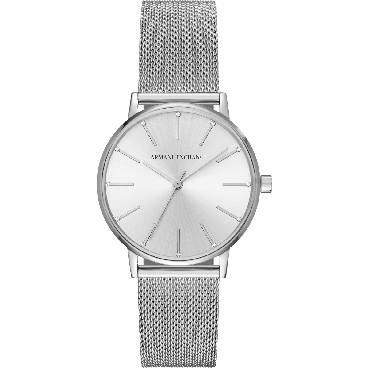 Hodinky ARMANI EXCHANGE Stainless Steel Mesh Bracelet Watch