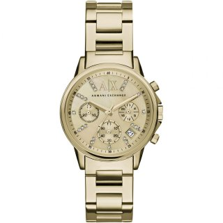 AX4327 Hodinky AX Smart Chronograph Gold Dial Ladies Watch