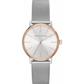 AX5537 Hodinky AX Two Tone Mesh Bracelet Watch