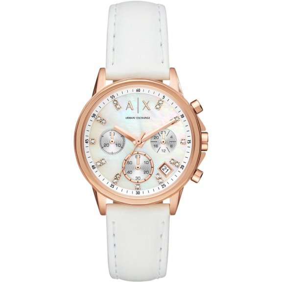 AX4364 Hodinky AX Watch Chronograph Woman Lady Banks