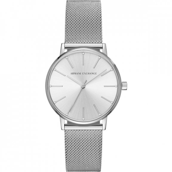 AX5535 Hodinky AX Stainless Steel Mesh Bracelet Watch