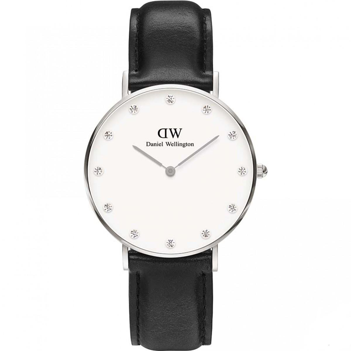 Hodinky DANIEL WELLINGTON Classy Sheffield Silver 34mm
