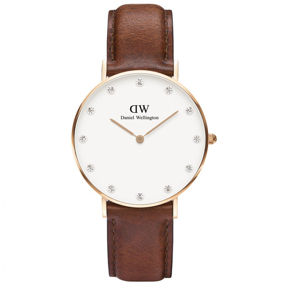 Hodinky DANIEL WELLINGTON Classy St Andrews Rose Gold 34mm