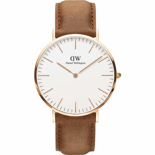 DW00100109 Hodinky DANIEL WELLINGTON Dapper Durham Rose Gold 40mm