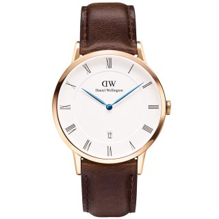 Hodinky DANIEL WELLINGTON Dapper Bristol Rose Gold 38mm 1103DW