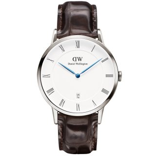 Hodinky DANIEL WELLINGTON Dapper York Silver 38mm 1122DW