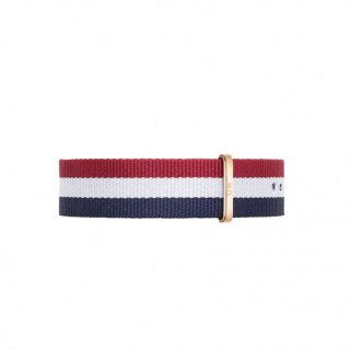 Nylonovy remienok DANIEL WELLINGTON Cambridge Rose Gold 20mm 0303DW