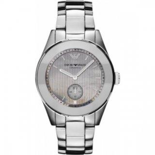 Strieborne hodinky EMPORIO ARMANI AR1463