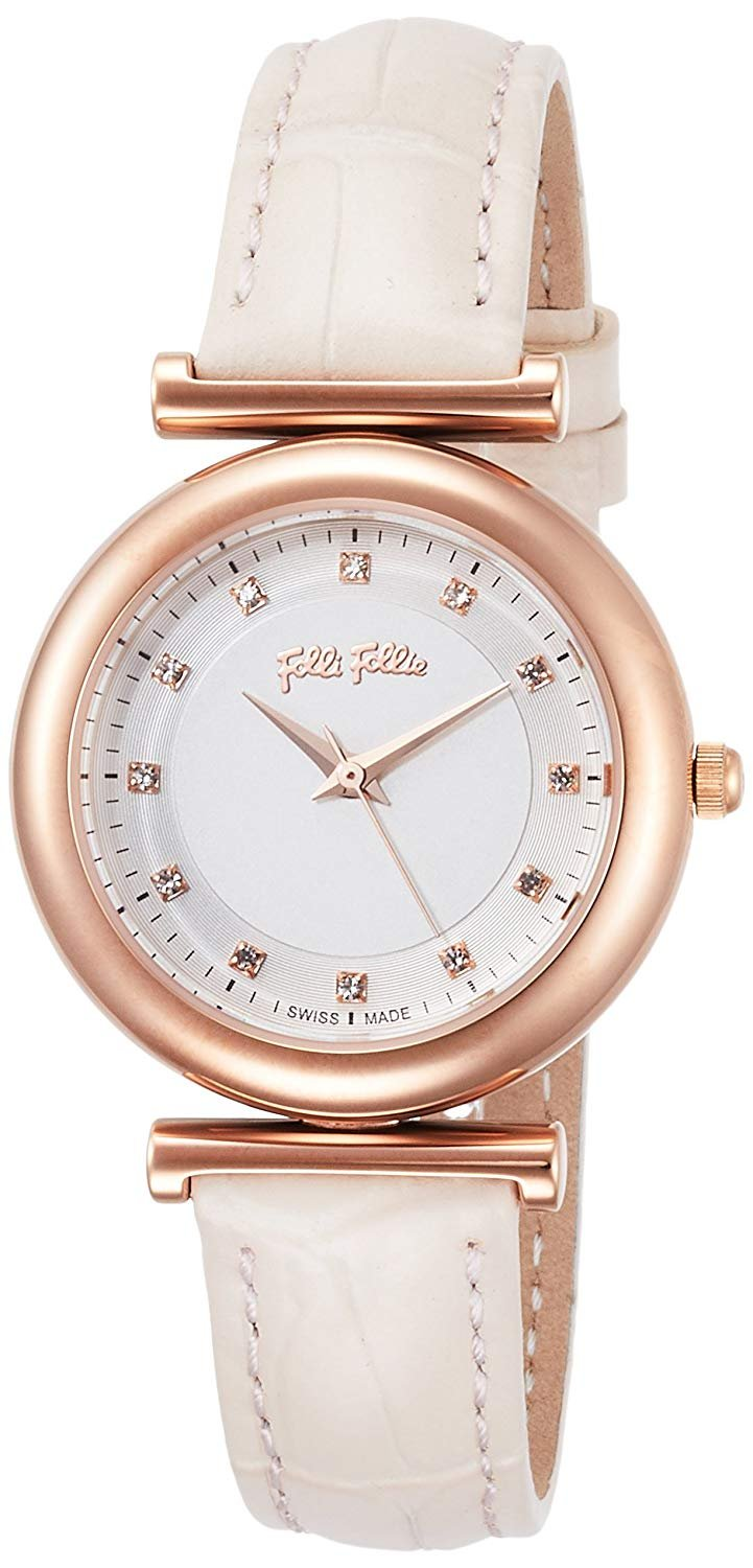 Hodinky FOLLI FOLLIE Sparkle Chic Small Case Leather Watch