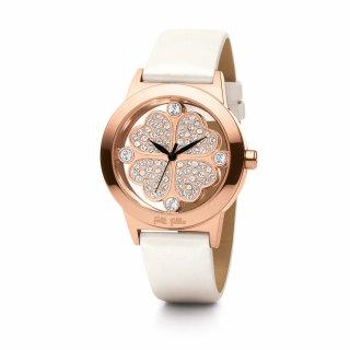 WF0R057SSZ WH Ruzovo biele hodinky FOLLI FOLLIE so srdieckovym motivom