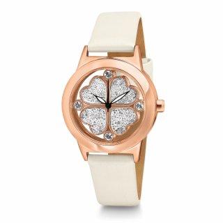 WF13R003SSZ WH Ruzovo biele hodinky FOLLI FOLLIE so srdieckami