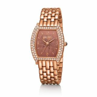 WF15B039BPR XX Ruzovo cervene hodinky FOLLI FOLLIE s kristami