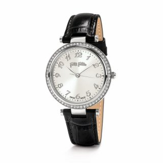 WF16A028SPS BK Hodinky FOLLI FOLLIE Classy Reflections Swiss Made Leather Bracelet Watch