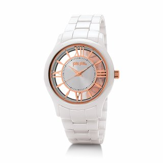 WF16F046BPS XX Hodinky FOLLI FOLLIE Time Illusion Big Case Ceramic Watch