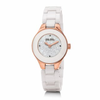 WF16R045BZS XX Hodinky FOLLI FOLLIE Small Case Ceramic Bracelet Watch