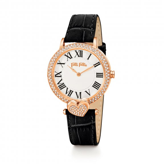 WF13B038SPS BK Hodinky FOLLI FOLLIE Love Fortune Watch