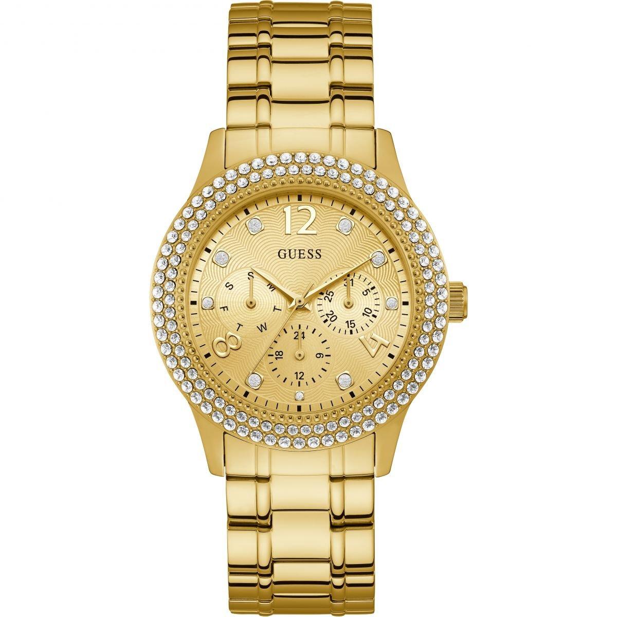 Dámske hodinky GUESS so zirkónmi W1097L2  3b7a4259c1b