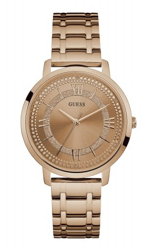 Ruzove hodinky GUESS W0933L3