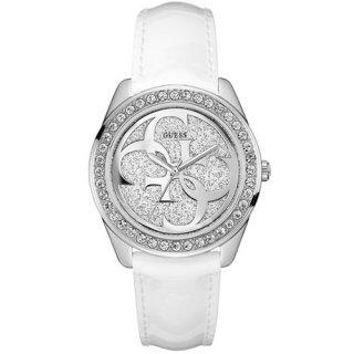 W0627L4 Bielo strieborne hodinky GUESS