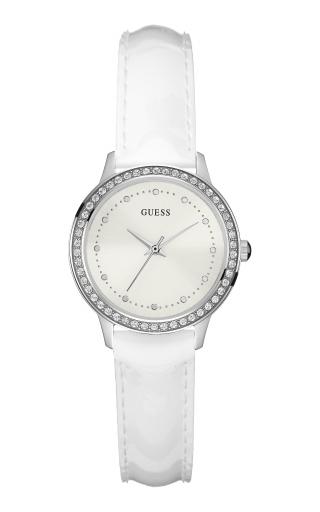 W0648L5 Bielo strieborne hodinky GUESS