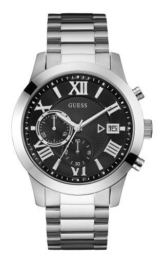 W0668G3 Panske hodinky GUESS s ciernym cifernikom ..