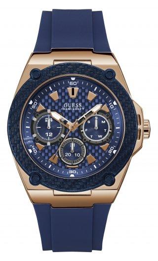 W1049G2 Panske hodinky GUESS v modorom prevedeni