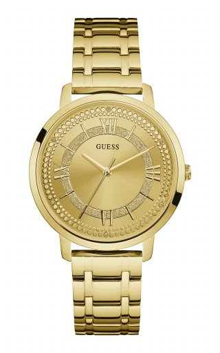 Zlate hodinky GUESS W0933L2