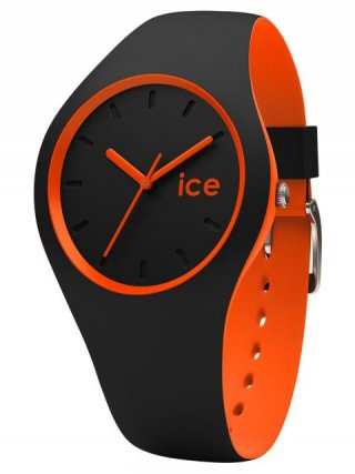 001529 ICE WATCH ICE DUO BLACK ORANGE SMALL