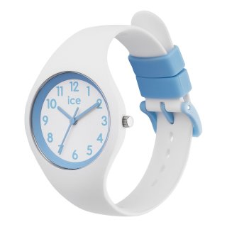 014425 ICE WATCH ICE OLA KIDS COTTON WHITE WHITE BLUES SMALL