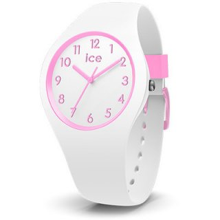 014426 ICE WATCH ICE OLA KIDS CANDY WHITE WHITE PINK SMALL