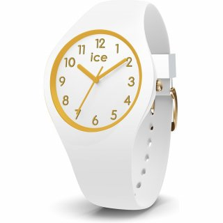 014759 Hodinky ICE WATCH ICE GLAM GOLD WHITE SMALL