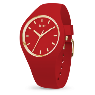 016264 Hodinky ICE WATCH ICE GLAM RED MEDIUM