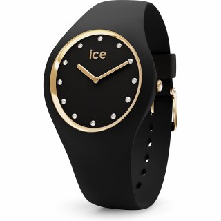 016295 Hodinky ICE WATCH ICE COSMOS BLACK GOLD MEDIUM