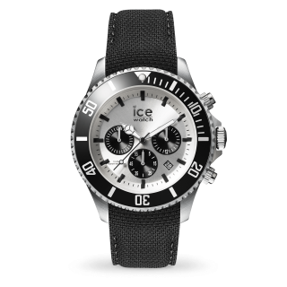 016302 Hodinky ICE WATCH ICE STEEL BLACK SIVLER