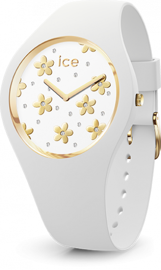 016658 Hodinky ICE WATCH ICE FLOWER PRECIOUS WHITE SMALL