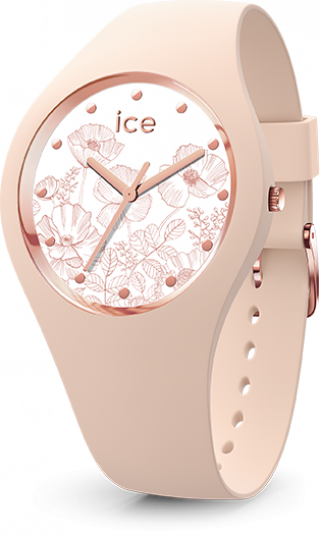 016663 Hodinky ICE WATCH ICE FLOWER SPRING NUDE SMALL