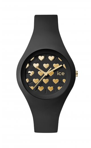 ICE WATCH ICE LOVE BLACK HEART LO.BK.HE.S.S.16